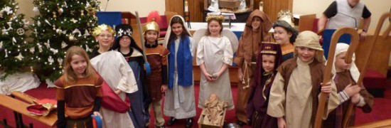 sunday school christmas play