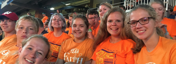 Faith Youth at ELCA National Youth Gathering