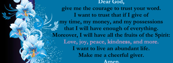Faith Lutheran Daily Devotions: Day Thirty-one
