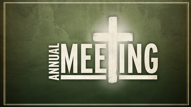 Image result for annual church meeting