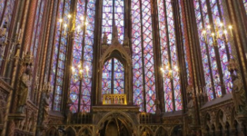 Sainte-Chapelle, Paris, September 2016