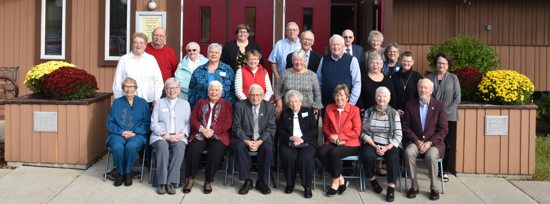 Charter Members during our 50th Anniversary Celebration